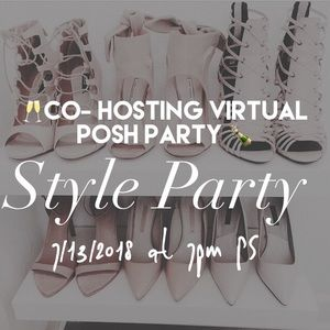 Other - Hosting my first Posh Party 🎊🎉🎊